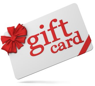 Gift card (with clipping paths)